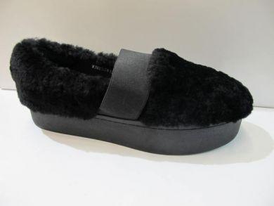 Туфлі на хутрі 04-16-1 - фото