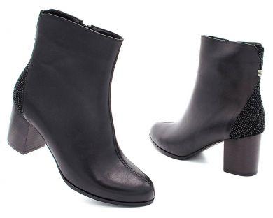 Ботинки на среднем каблуке 189-18 - фото 3