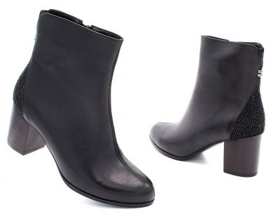 Ботинки на среднем каблуке 189-18 - фото 8