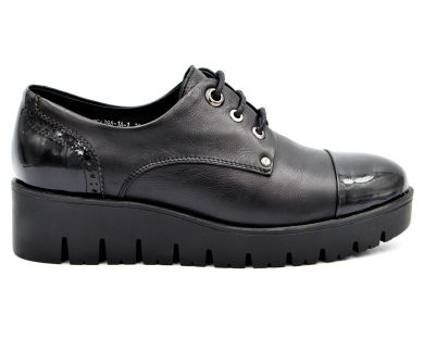 Туфли на толстой подошве 639-1-1 - фото