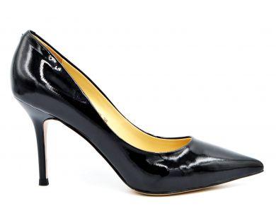 Туфли лодочки на среднем каблуке 603-601-19 - фото