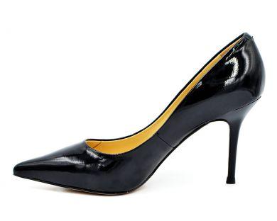 Туфлі човники на середніх підборах 603-601-19 - фото