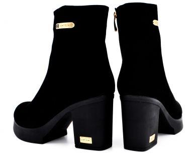Ботинки на среднем каблуке 22-1550-10 - фото