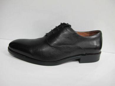 Туфлі на шнурках класичні 8619-11-1 - фото