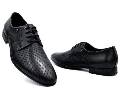 Туфли (кожа перфорированная) 7612-3 - фото