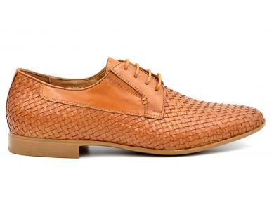 Туфли (кожа перфорированная) 7612-6-45 - фото