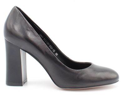 Туфли лодочки на среднем каблуке 12120-02 - фото 8