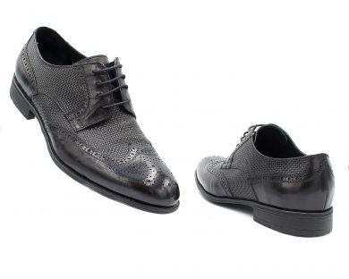 Туфли классические на шнурках 928-9-1 - фото 3