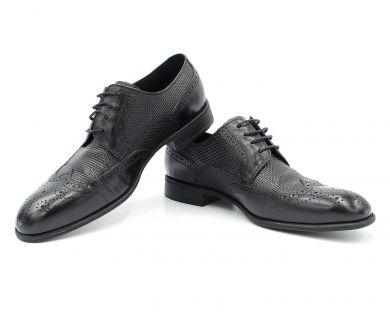 Туфли классические на шнурках 928-9-1 - фото 4