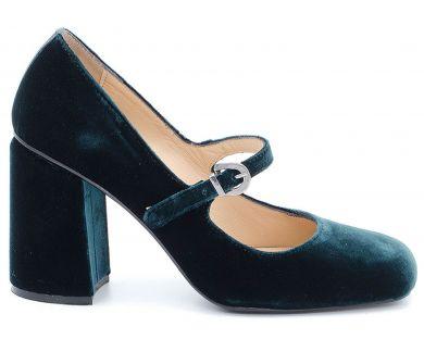 Туфли на каблуке 04-1689 - фото