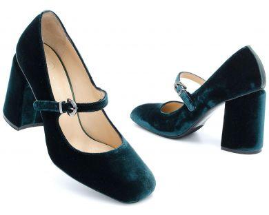 Туфли на каблуке 04-1689 - фото 8