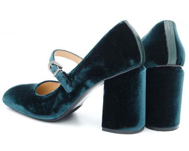 Туфли на каблуке 04-1689 - фото 9