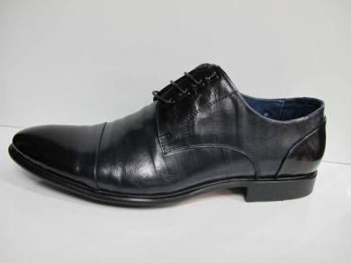 Туфлі на шнурках класичні 01-26-459 - фото
