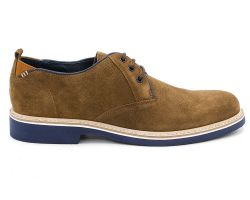 Туфли броги 3-8709 - фото
