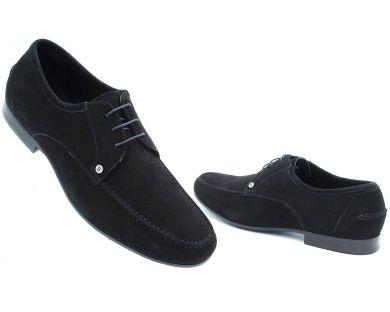 Туфли классические на шнурках 3-9901-6 - фото 3