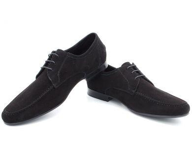 Туфли классические на шнурках 3-9901-6 - фото 4