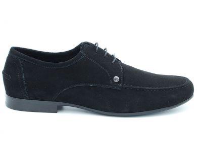 Туфли классические на шнурках 3-9901-6 - фото 5