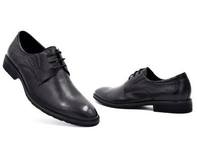 Туфлі на шнурках класичні 409-2-165 - фото