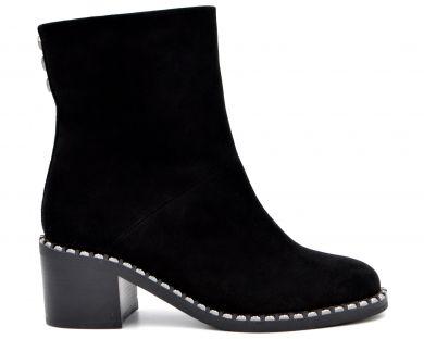 Ботинки на каблуке 1765-0602 - фото