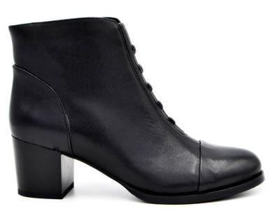 Ботинки на среднем каблуке 25-1 - фото