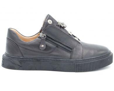 Туфли на толстой подошве 5555 - фото