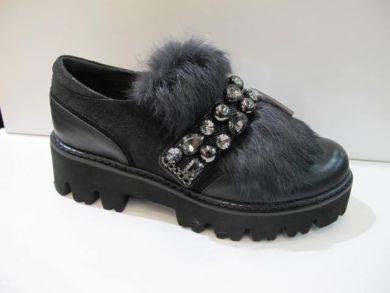 Туфлі на товстій підошві 5096-3 - фото
