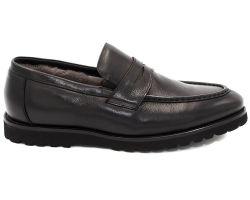 Туфли на меху 8779-8 - фото