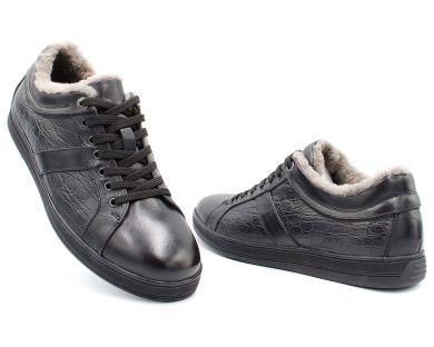 Туфли на меху 1262-05 - фото
