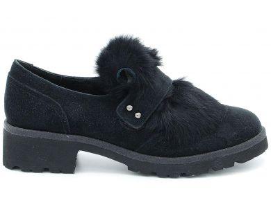 Туфлі на товстій підошві 369-12 - фото