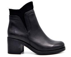 Ботинки на среднем каблуке 1535-20 - фото