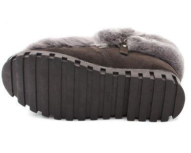 Зимові напівчеревики на хутрі 8005-1 - фото