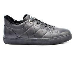 Туфли на меху 56-4 - фото