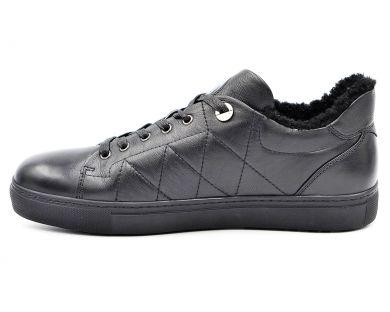 Туфлі з хутром 56-4 - фото
