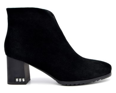 Ботинки на среднем каблуке 31-92841 - фото