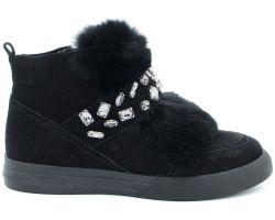 Зимние ботинки на низком ходу 75-411 - фото