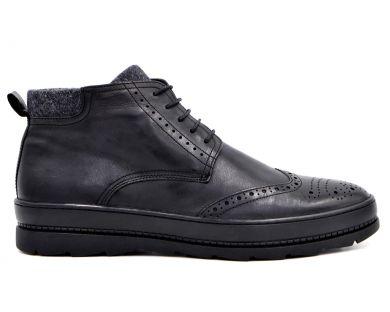 Спортивні черевики на хутрі 1703-0601 - фото