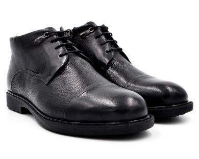 Ботинки классика на меху 3-4601 - фото
