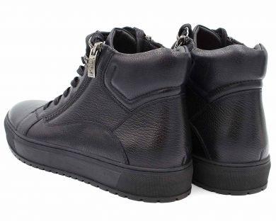 Ботинки спорт на меху 7502-63 - фото