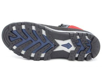 Ботинки спорт на меху 4539 - фото