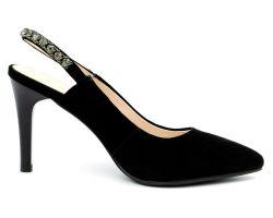 Туфли с открытой пяткой 8808-55 - фото