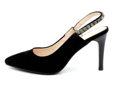 Туфлі з відкритою п'ятою 8808-55 - фото
