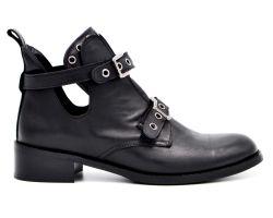 Ботинки с пряжками 3056 - фото
