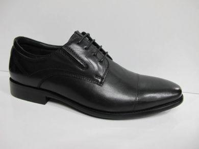 Туфлі на шнурках класичні 828-73 - фото