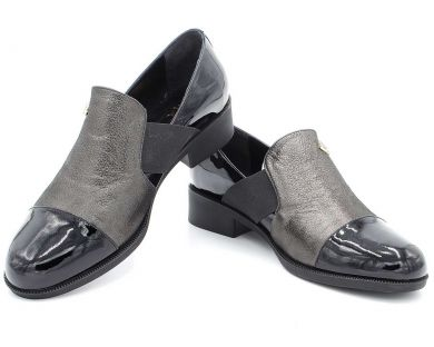 Туфли на низком ходу (комфорт) 7717 - фото 4