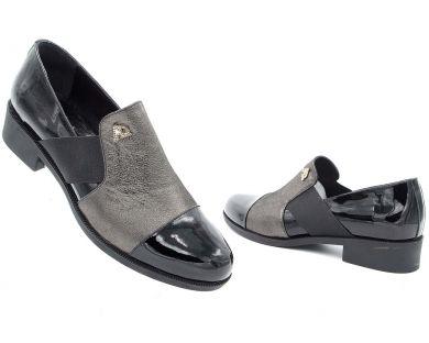 Туфли на низком ходу (комфорт) 7717 - фото 8