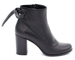 Ботинки на среднем каблуке 11-851-1 - фото