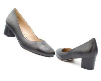 Туфлі човники на середніх підборах 1-1175 - фото