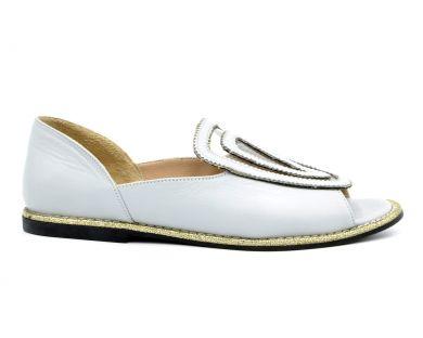 Туфлі з відкритим носком 1460 - фото