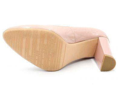 Туфлі човники на середніх підборах 286-01 - фото