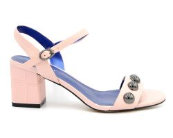 Босоножки на каблуке 01-2 - фото